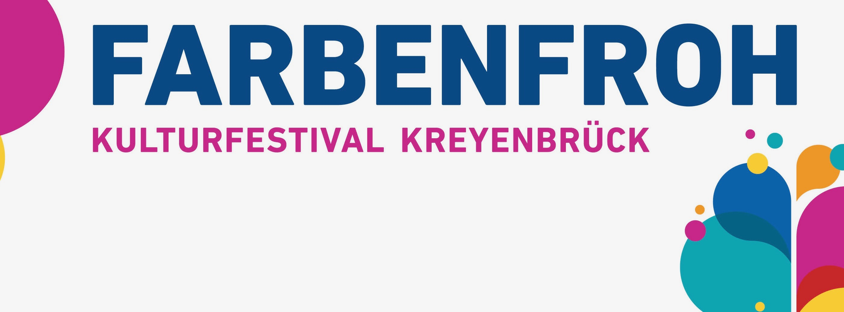 FARBENFROH / Kulturfestival Kreyenbrück  Logo